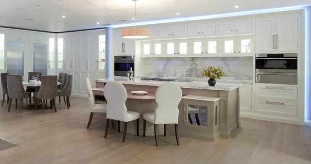 Classic painted kitchen modern kitchen other by for Kitchen designs northern ireland