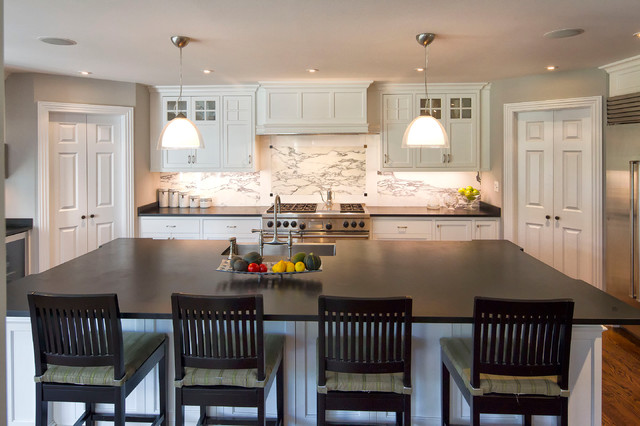 Classic Transformation traditional-kitchen