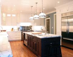 Classic White traditional-kitchen