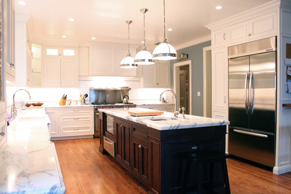 Classic White - Traditional - Kitchen - Newark - by House ...