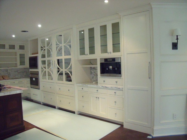 Classic White Kitchen Modern Kitchen Indianapolis By Carter Cabinet Company