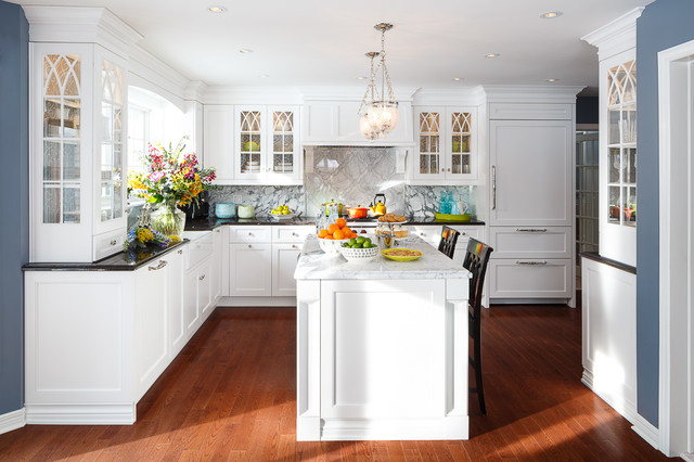 Classic White Kitchen Design By Astro - Ottawa traditional-kitchen