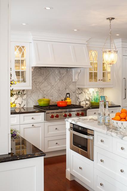 classic white kitchen design by astro ottawa