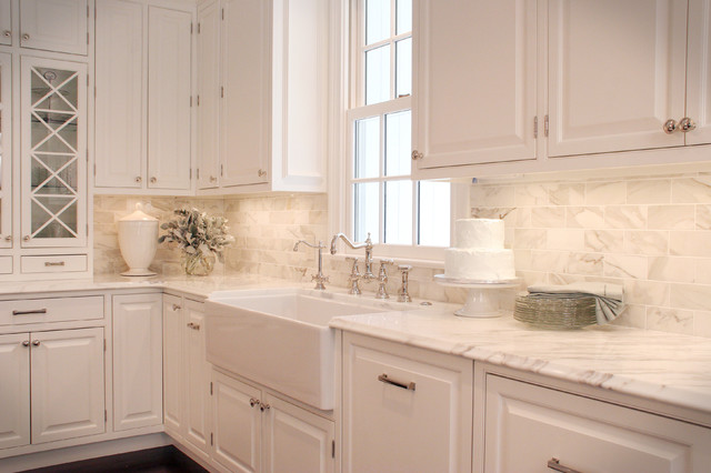 Classic White Kitchen classic white kitchen - traditional - kitchen - cleveland -