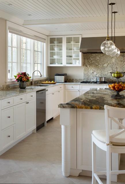Classic White Kitchen Traditional Kitchen Boston