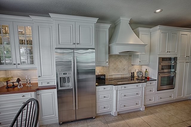 Classic White Kitchen Remodel - Traditional - Kitchen - Orlando - by ...