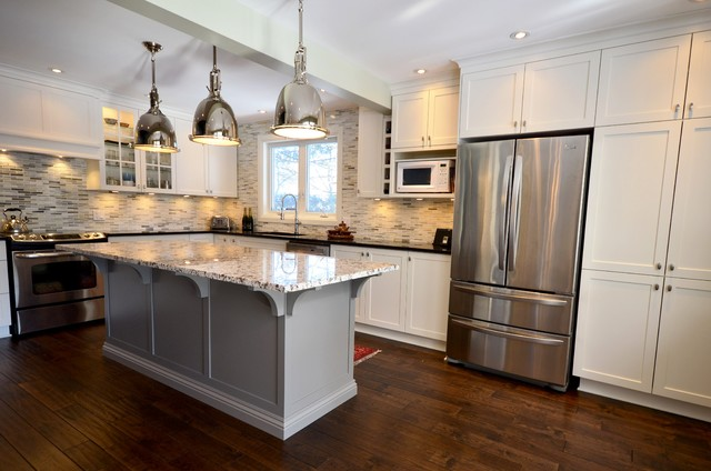 Classic white kitchen - Traditional - Kitchen - ottawa - by StyleHaus Interiors