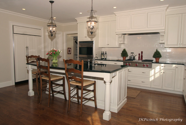 Classic White Paint traditional-kitchen