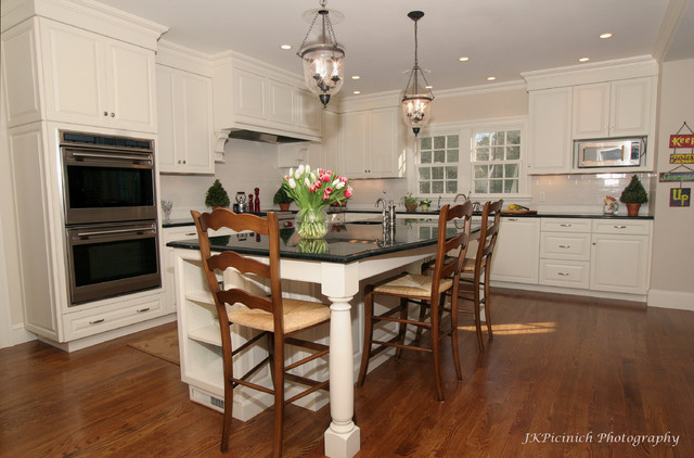 Classic White Paint traditional kitchen