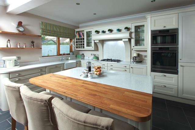 Classical Home Lucan Co Dublin Contemporary Kitchen Dublin By Aspire Design