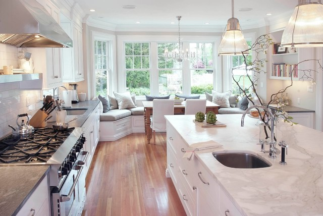 Classical Kitchen - Traditional - Kitchen - New York - by Pickell ...