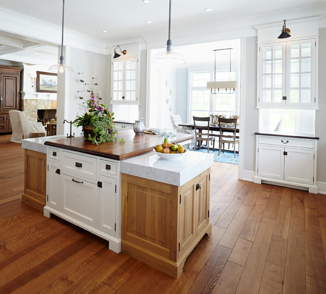 Dream Home Kitchen: Classical Nantucket Dream Home
