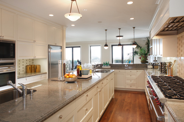 Classical Twist A Modern Townhouse With Traditional Reference Traditional Kitchen San