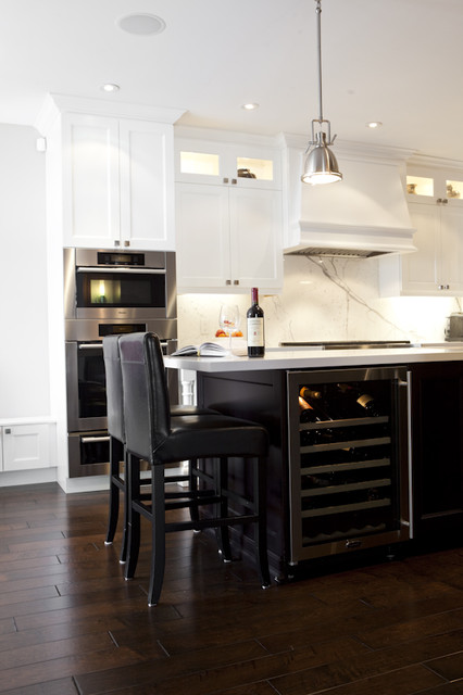 Classically Modern traditional-kitchen