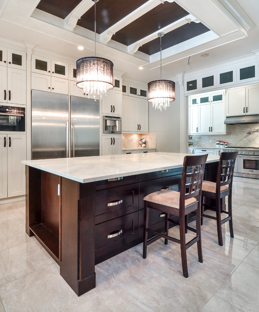 Kitchen Cabinets In Surrey Bc: Classy And Elegant Kitchen Vancouver