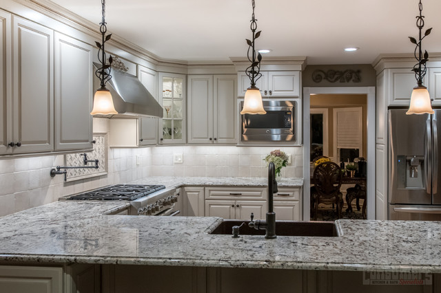 Classy Commack - Traditional - Kitchen - New York - by ...