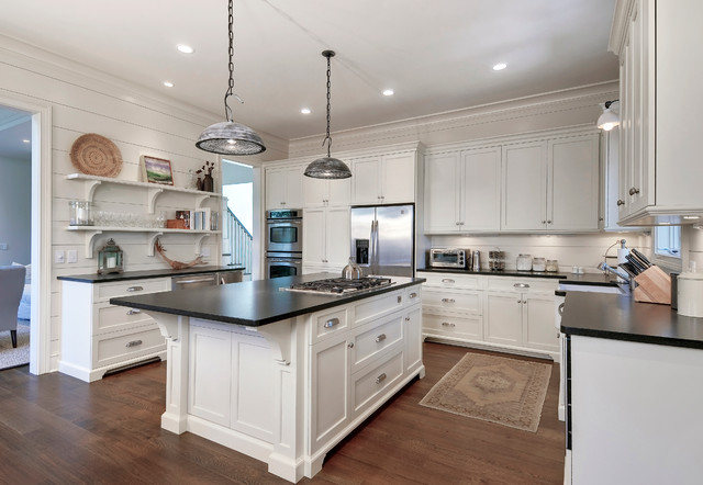 Classy Cottage Beach Style Kitchen Charleston By Robert Paige Cabinetry Llc