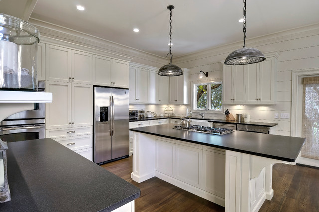 Classy Cottage Beach Style Kitchen Charleston By Robert Paige