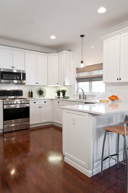 Clean and Contemporary Update traditional-kitchen