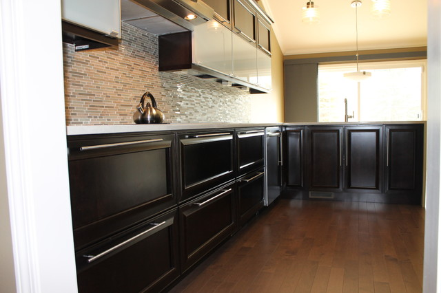 Clean And Contemporary With A Lot Of Contrast Contemporary Kitchen Other By Kurtis