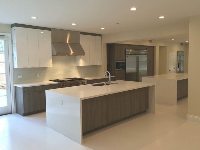 Clean and Modern in Tustin  Modern  Kitchen  Orange County  by