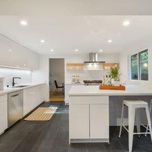 Clean & Open Modern Kitchen