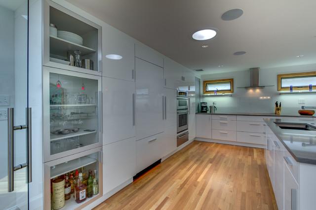 Clean Contemporary Kitchen Contemporary Kitchen Boston By Pegasus Design To Build Llc