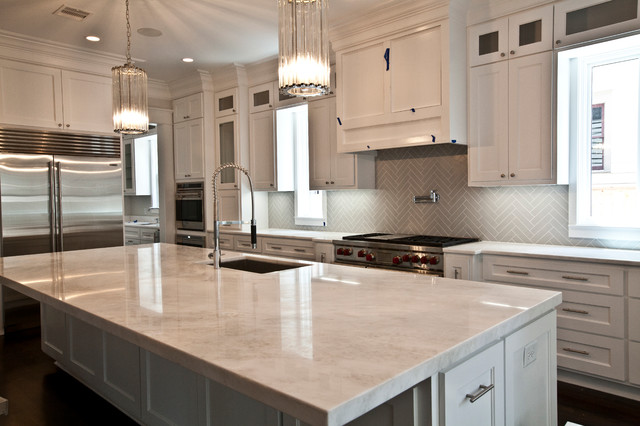Clean Kitchen Transitional Kitchen Houston By