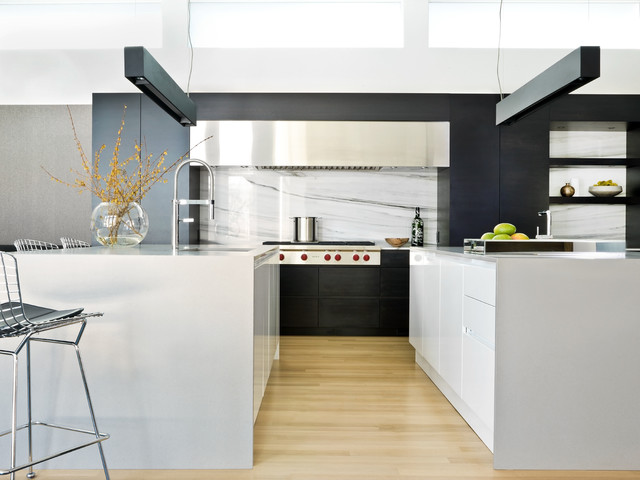 clean living scandinavian-kitchen