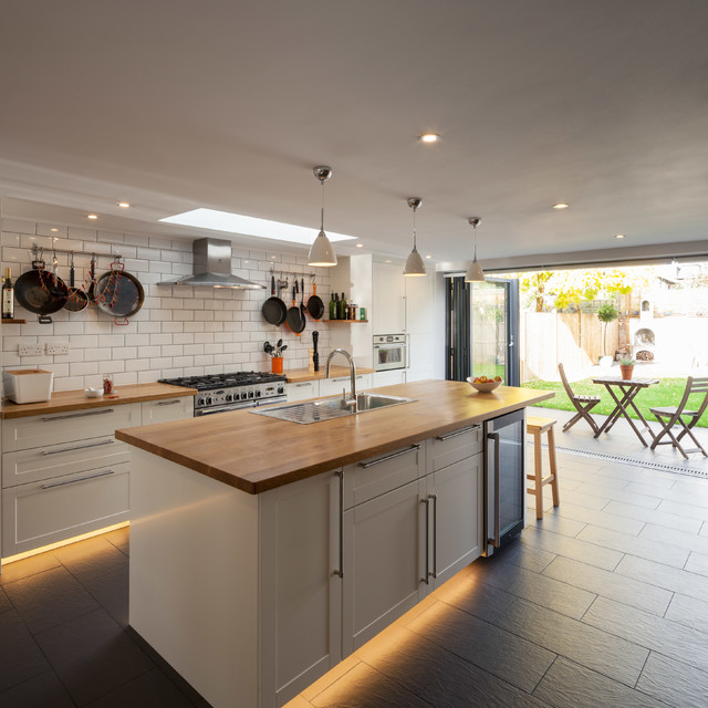 Cleaveland Road Transitional Kitchen London By