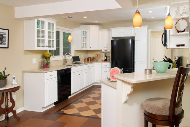 Cleveland Home Remodel - Tamer Construction traditional-kitchen