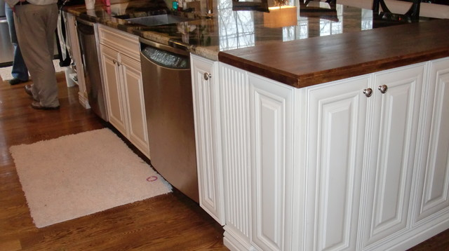 Client's Dream Project traditional-kitchen