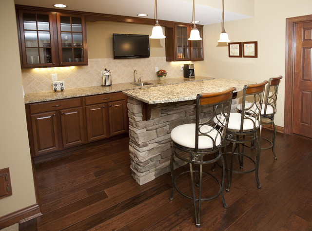 Client's home traditional-kitchen
