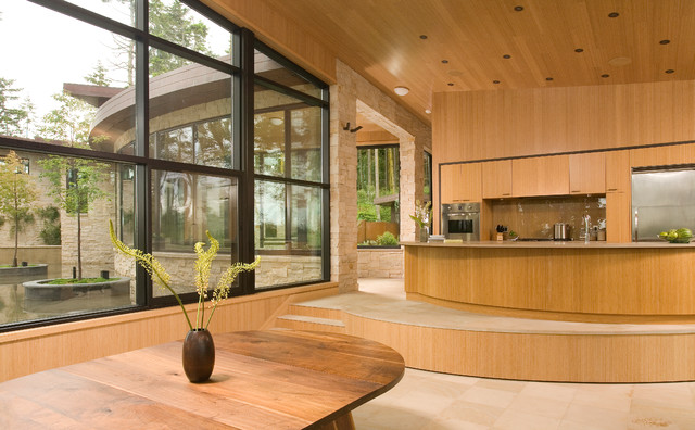 Cliff Hanger contemporary-kitchen