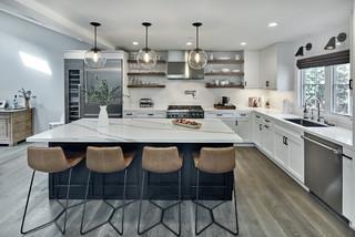 Clifton Ave San Carlos Ca Transitional Kitchen San
