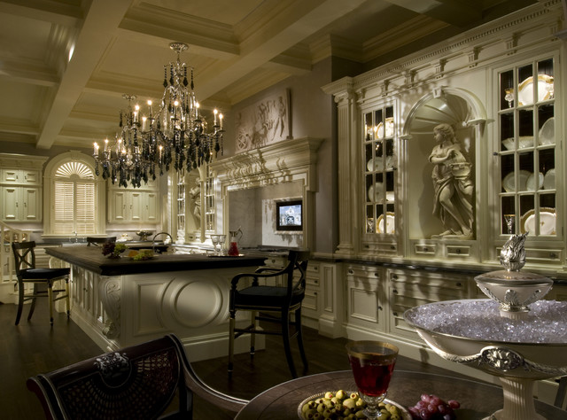 Clive Christian Architectural Kitchen - Traditional ...
