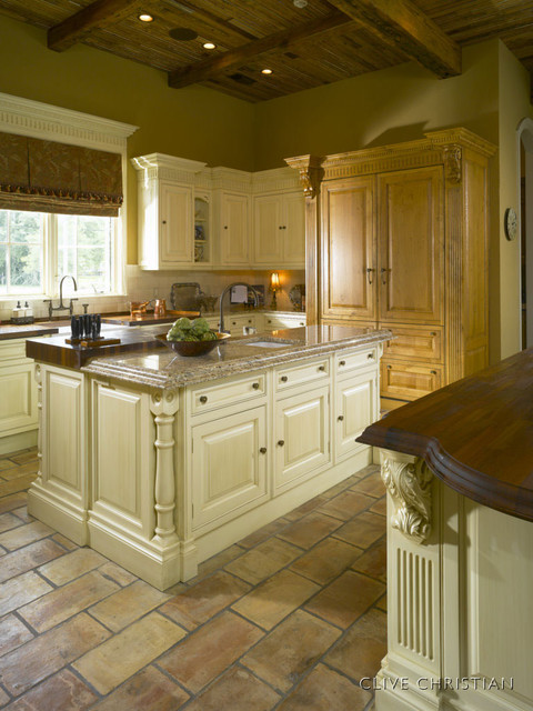Clive Christian Kitchen In Antique French Oak Amp Cream