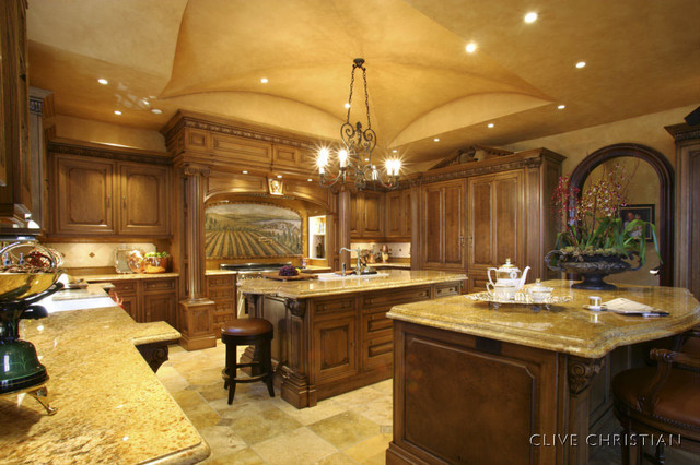 Clive Christian Kitchen In French Oak Traditional Kitchen Atlanta By Hungeling Design Llc