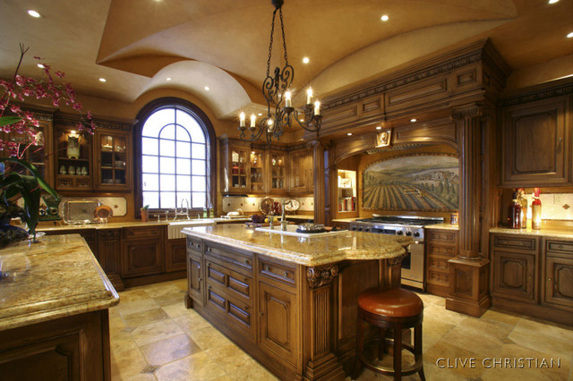 Genial Clive Christian Kitchen In French Oak Traditional Kitchen