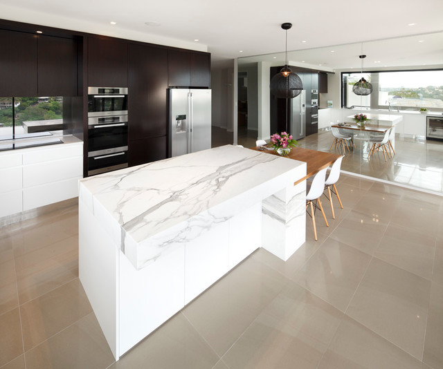 Clontarf Modern Kitchen Modern Kitchen Sydney By Art Of Kitchens Pty Ltd