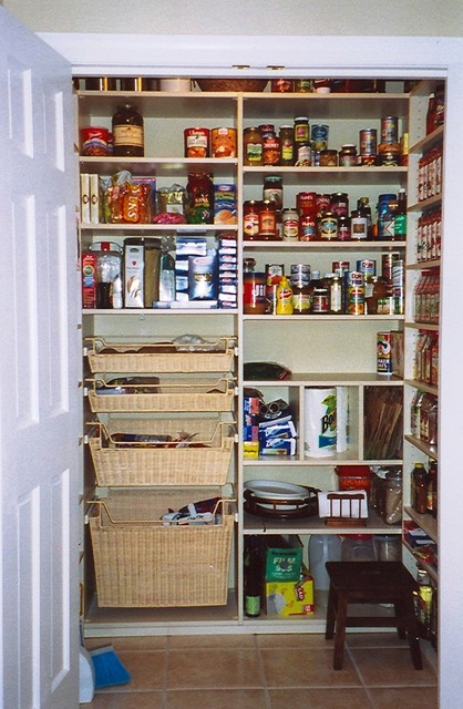 Closet Factory Pantries Around The Country Traditional