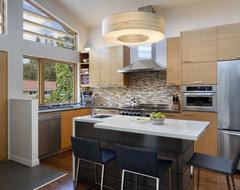 Cloud Street Residence midcentury-kitchen