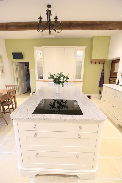 clunch farrow and ball hand painted kitchen traditional. Black Bedroom Furniture Sets. Home Design Ideas