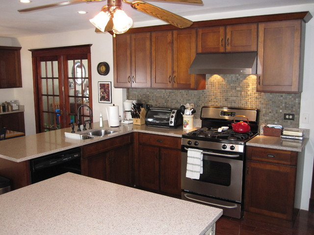Coach Drive Naperville IL Traditional Kitchen Chicago By Cabinets 4U