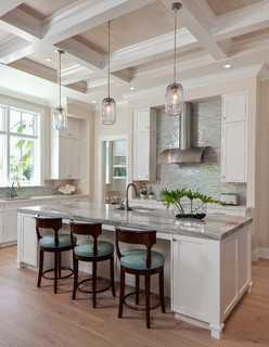 Coastal Casual Beach Style Kitchen Miami By Ficarra Design Associates Inc