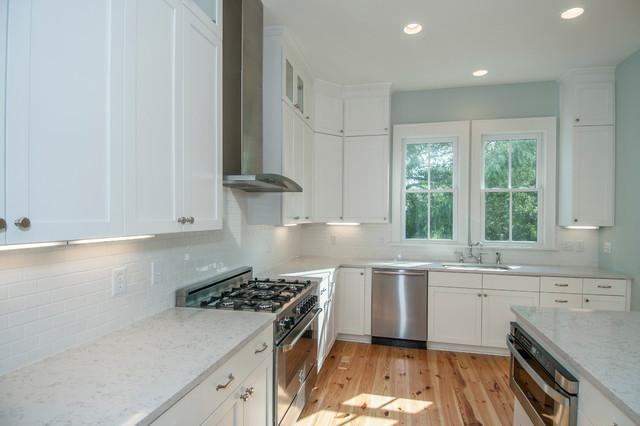 Coastal Family Home beach-style-kitchen