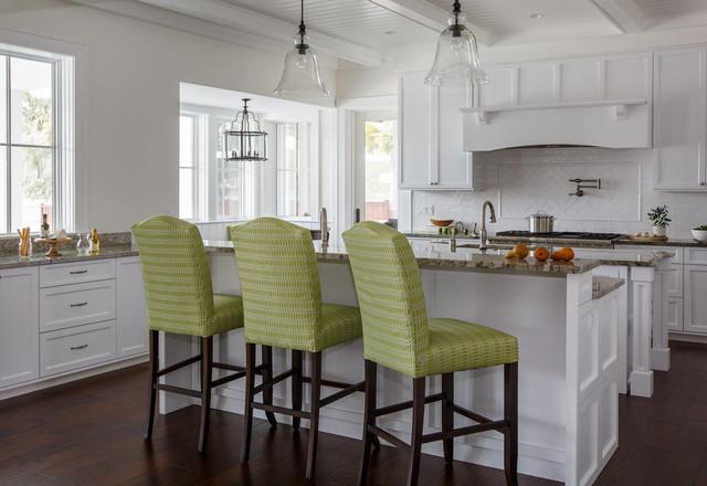 Coastal Family Retreat Beach Style Kitchen Jacksonville By Lisa Gielincki Interior Design