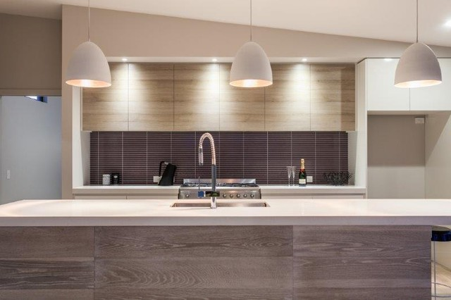 Coastal home - Contemporary - Kitchen - melbourne - by Livingetc