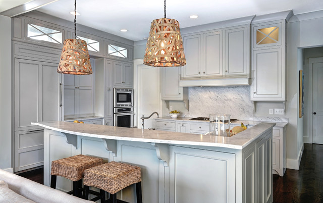 Coastal Inset - beach style - kitchen - other metro - by William ...