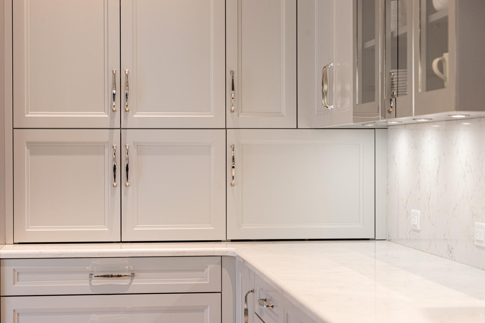 corner appliance garages